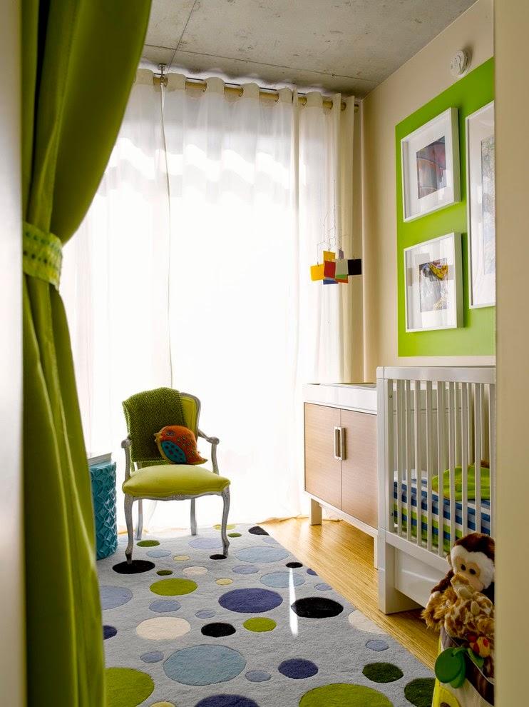 bedroom baby decor idea