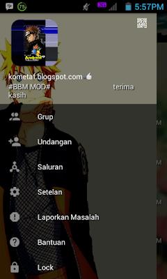 BBM MOD v3.0.1.25 Naruto APK new version