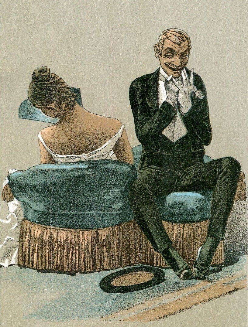 The Gilded Tarot Images On: The American Menu: Dining At A Love Hotel In The Gilded Age