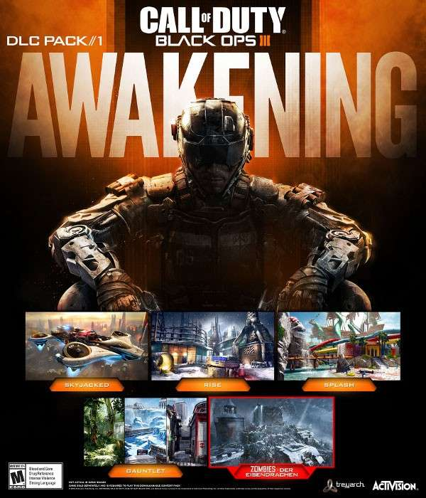 DLC Awakening para Call of Duty: Black Ops 3 saldrá a inicios de 2016