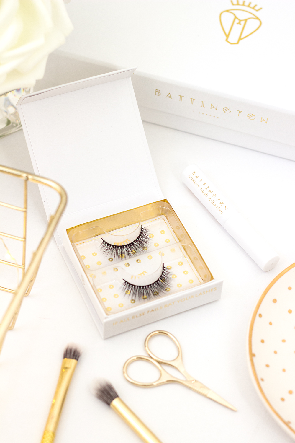 Battington Lash Cruelty Free Silk False Lashes