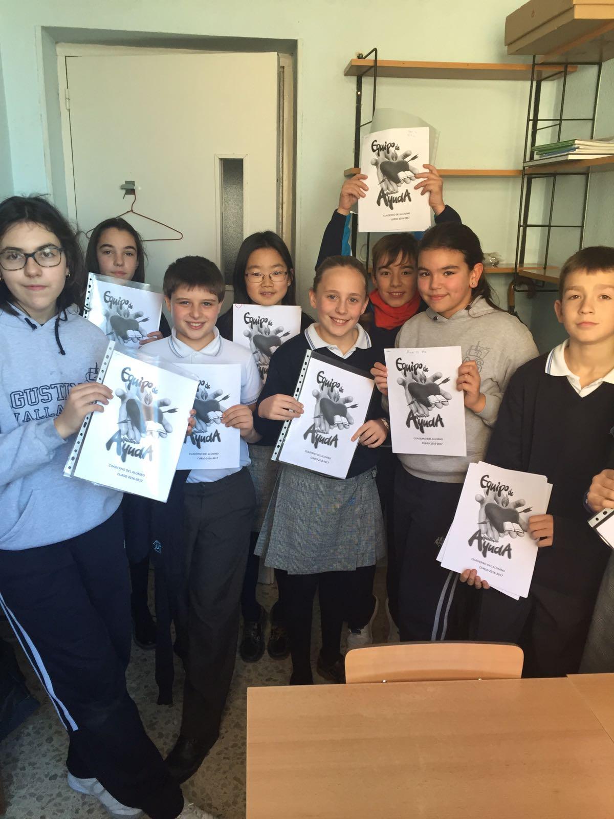 Agustinas Valladolid - 2017 - Primaria 5 6 - Alumnos Ayuda 2