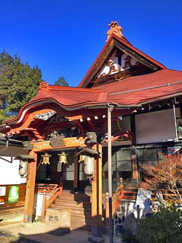Chogakuji Temple, Nagano Prefecture.