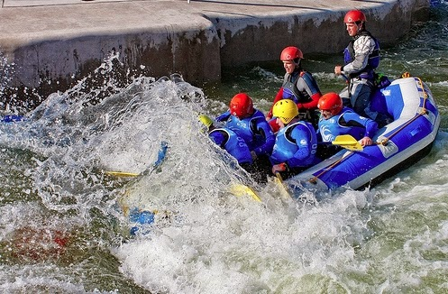 White Water Rafting Cardiff
