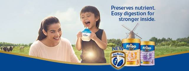 Introducing FRISO GOLD With LocNutri