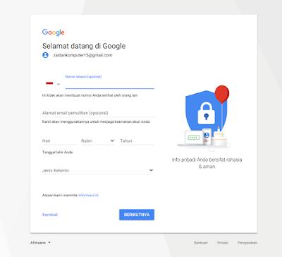 Cara Daftar dan Buat Akun Gmail Baru dengan Mudah