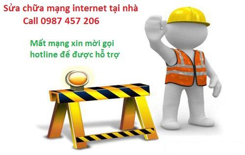 Sửa mạng internet tại nhà
