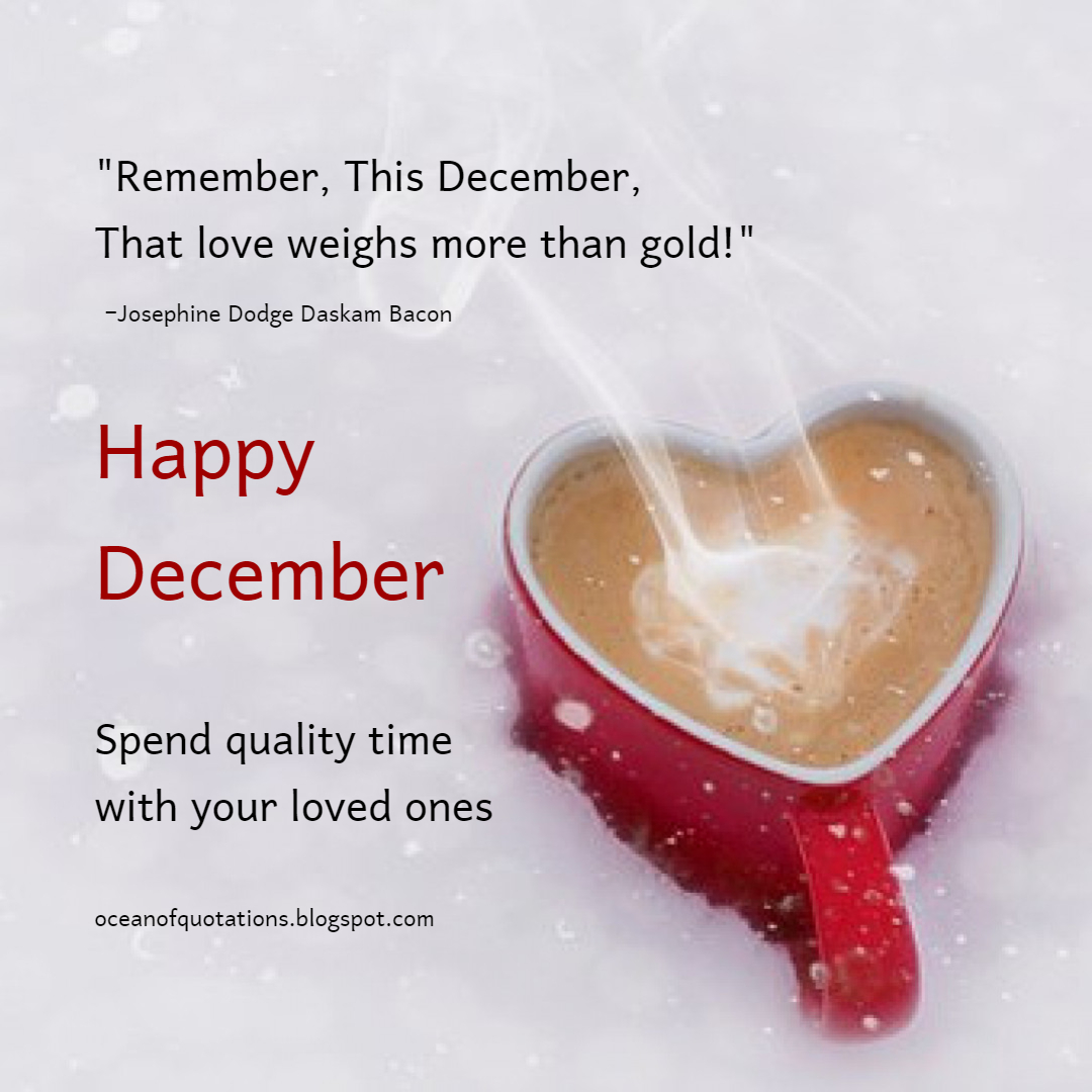 Happy December Ocean Of Quotes