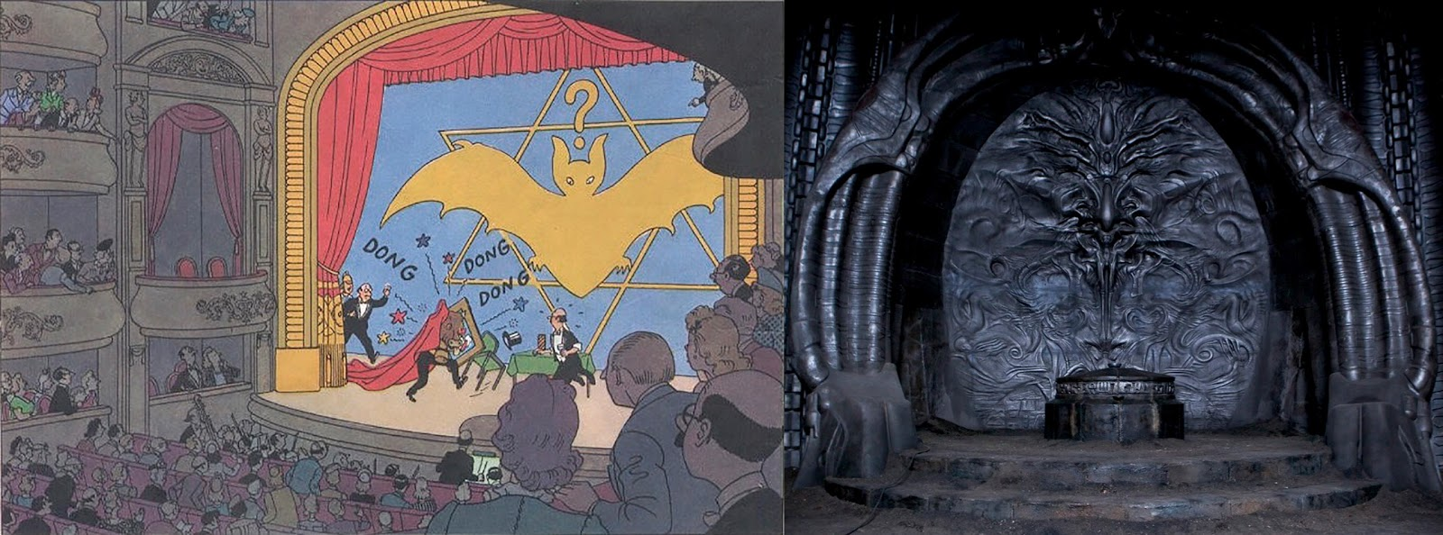 A Looking Through The Tintin Book Still And Noticed That In Thirteen Adventures Of Seven Crystal Balls It Features An Almost
