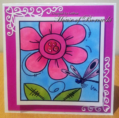 Diecut Divas, Bugaboo Mini Set Spring Flower Blocks