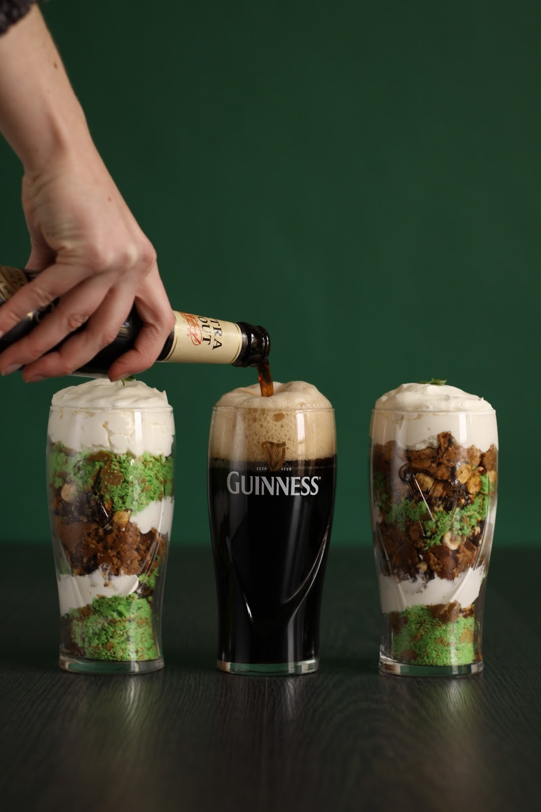 Pancake Stories St Patricks Pints with Guinness