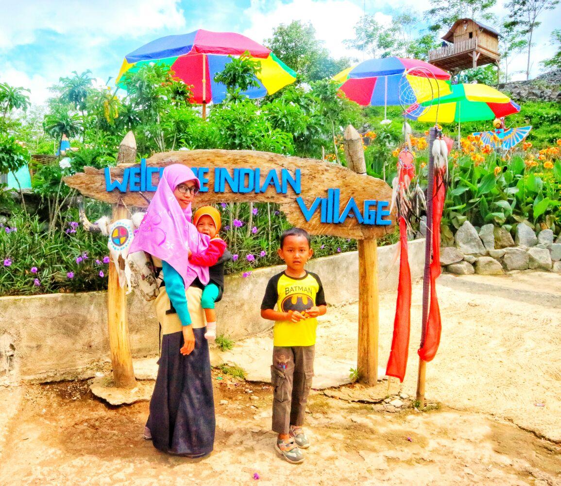 Uniknya Kampung Indian Di Lereng Gunung Kelud Kediri Dekcrayon