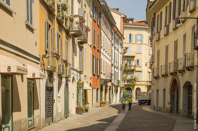Turismo viaje Brera MIlan Italia