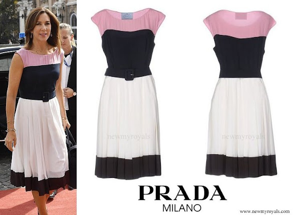 Crown Princess Mary wore PRADA - Knee-length dress