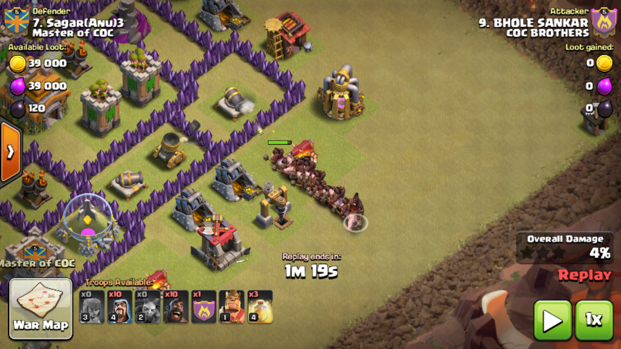 Rapidclashers Blogspot Com Mass Hog Attack For Th 7 With Picture