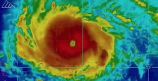 Irma closing in on Leeward Islands on track headed for Florida
