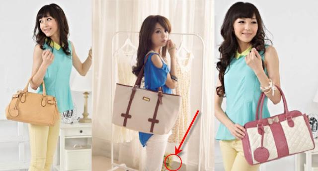 Tips memilih tas wanita yang cocok bentuk tubuh
