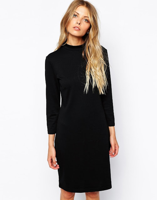 vila black dress