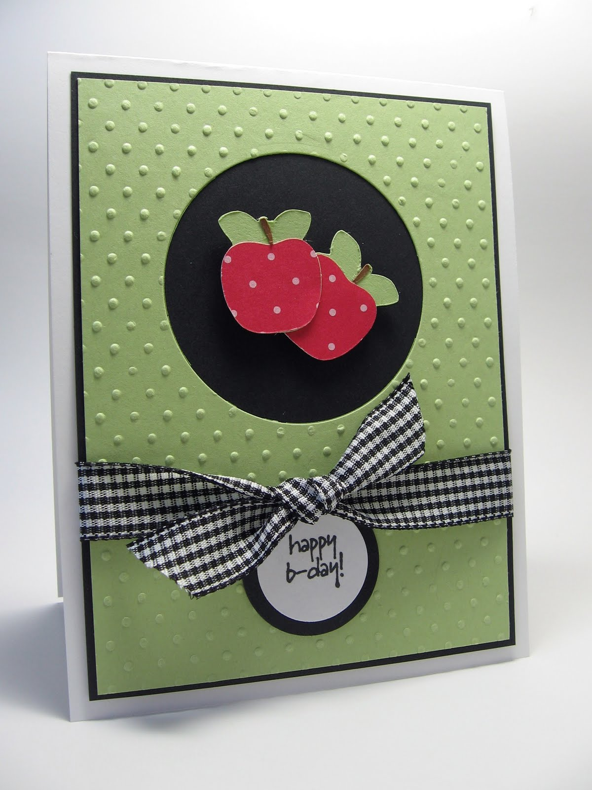 Stamping Up North With Laurie: Happy Birthday Cricut Card