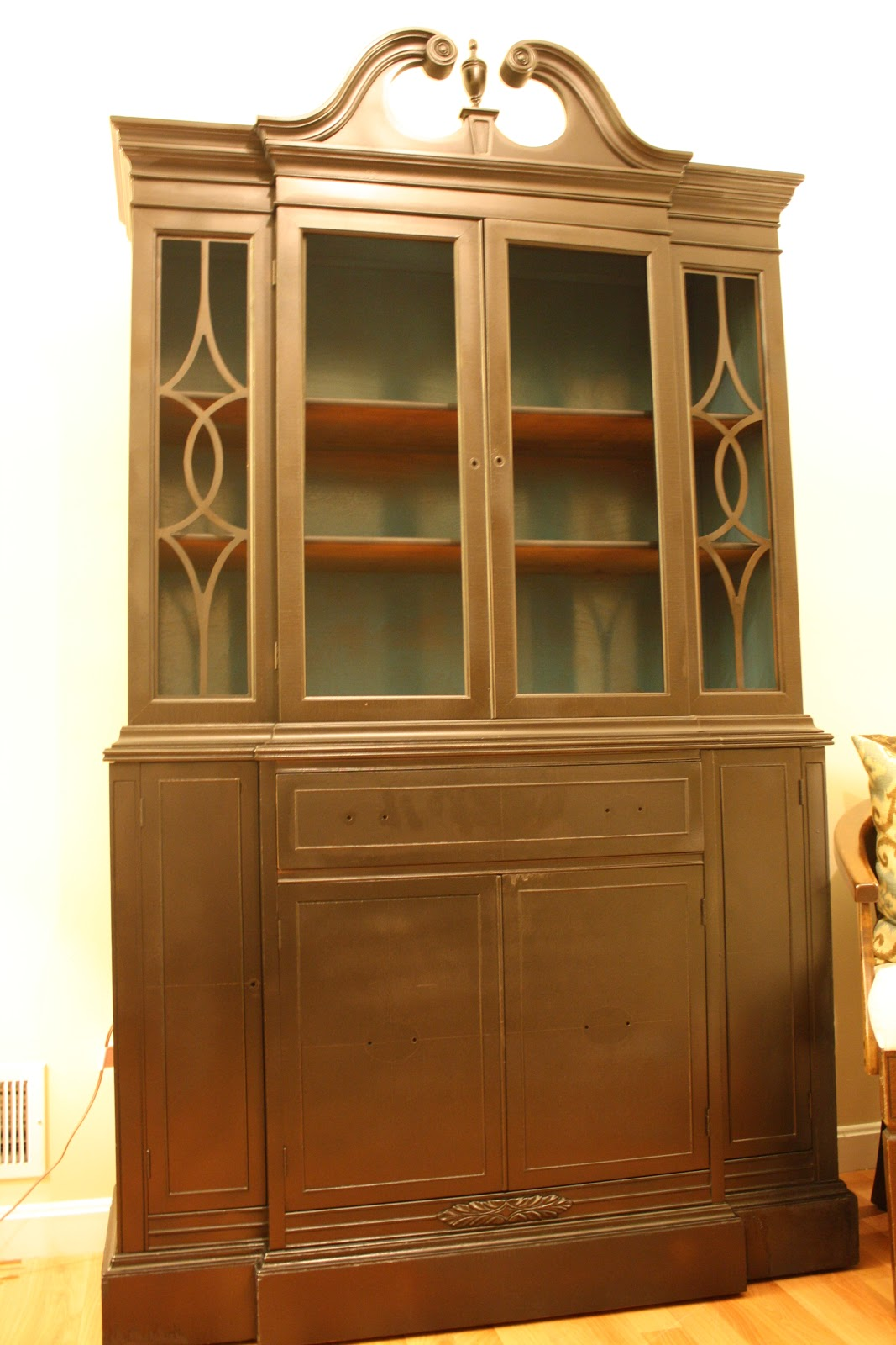 how to makeover kitchen cabinets living room updates spray painted china cabinet makeover 7283