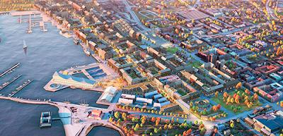 Betraktelse över varbergspolitikens förutsättningar och den torftiga lokala d...