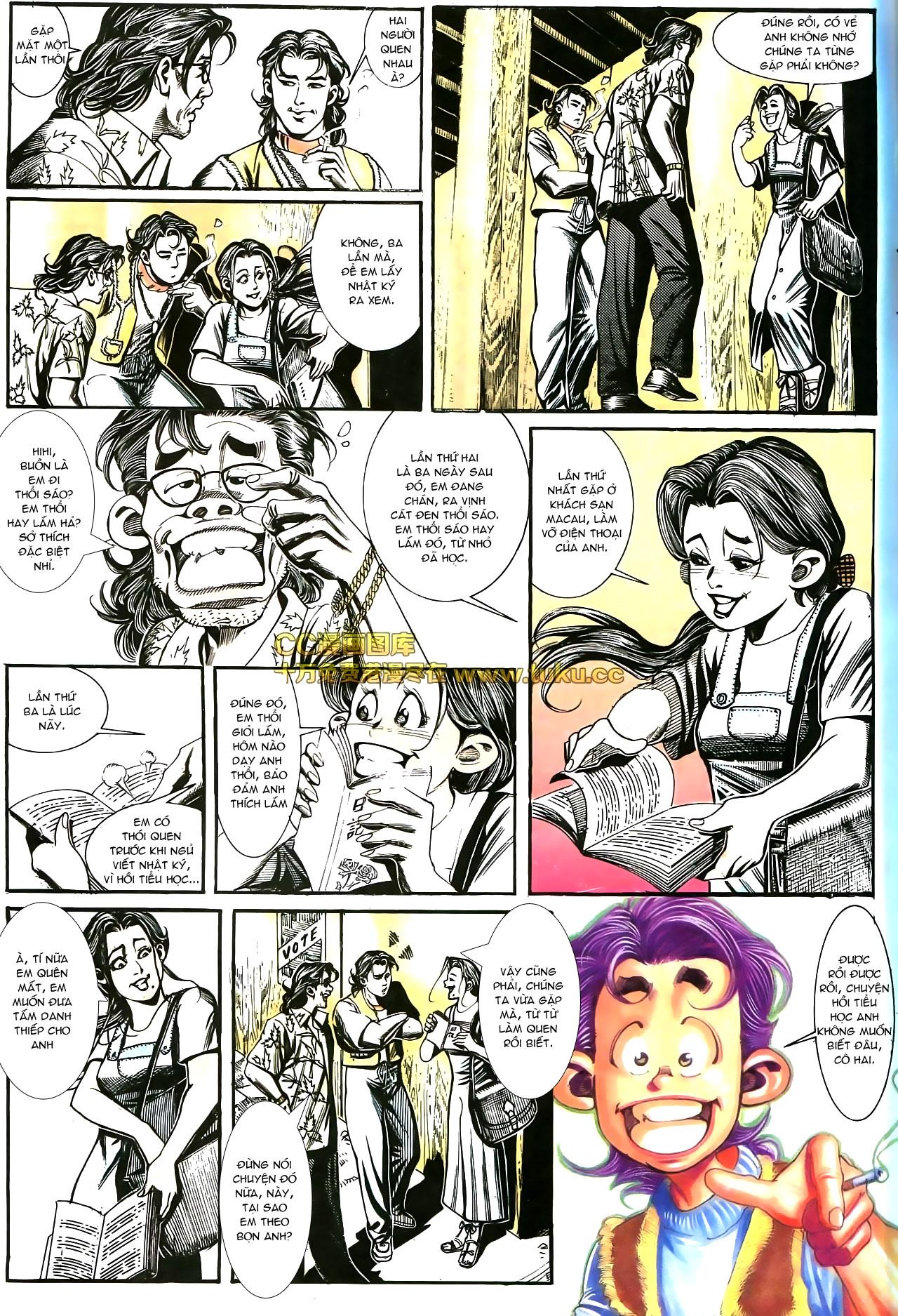 Người Trong Giang Hồ chapter 178: bối cảnh quạ đen trang 5