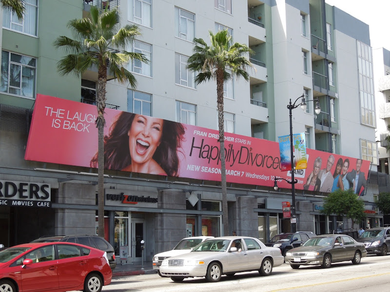 Happily Divorced season 2 billboard