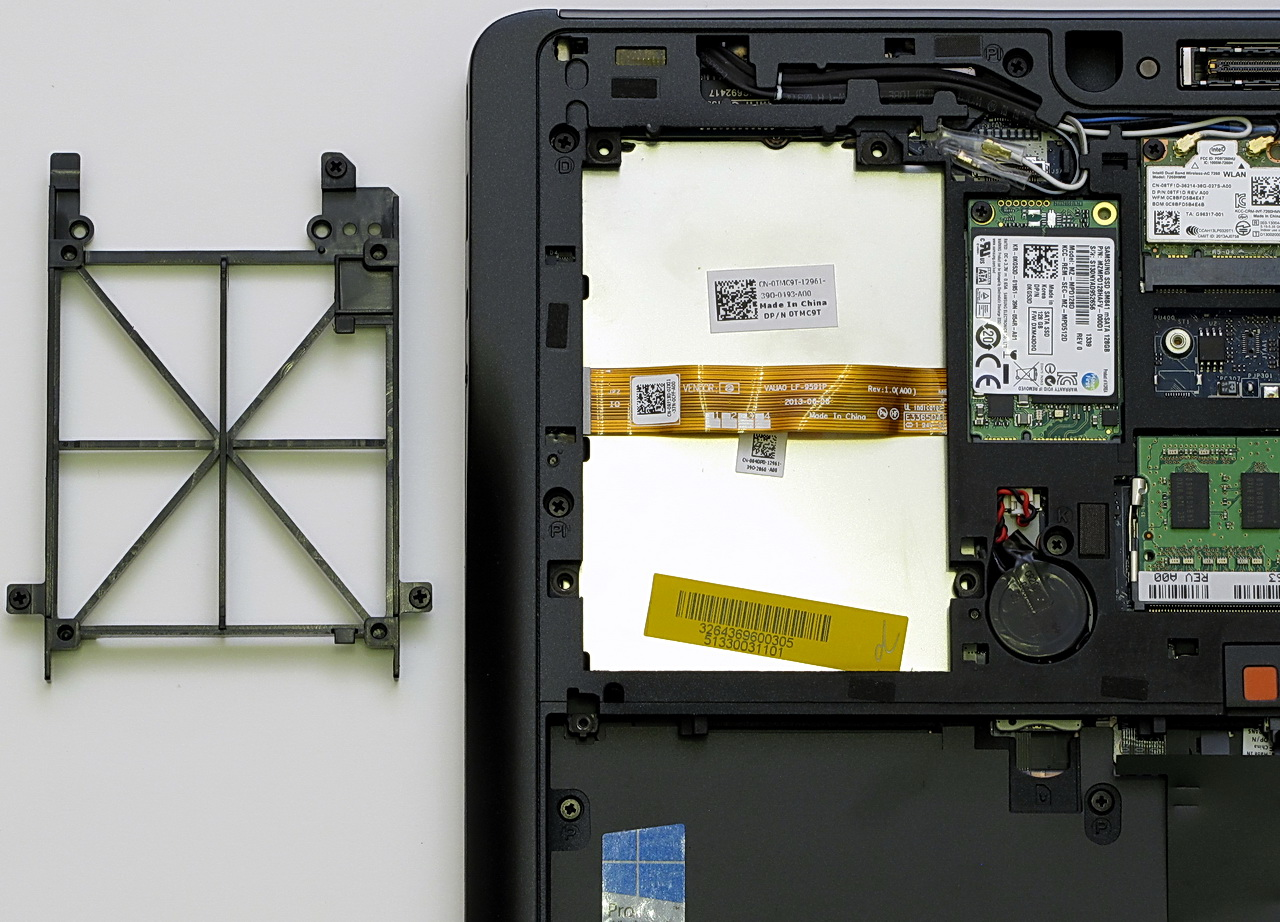 Dell Latitude E7440, HD cage