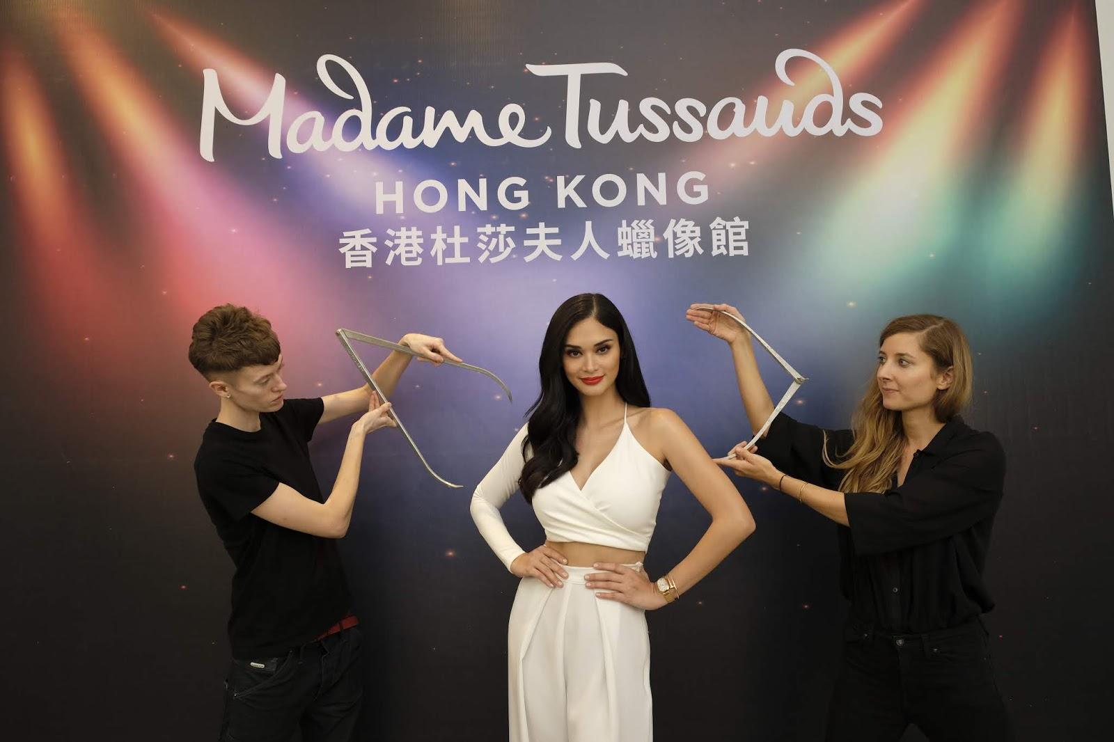 Madame Tussauds Hong Kong: Pia Wurtzbach as the First Filipino Wax