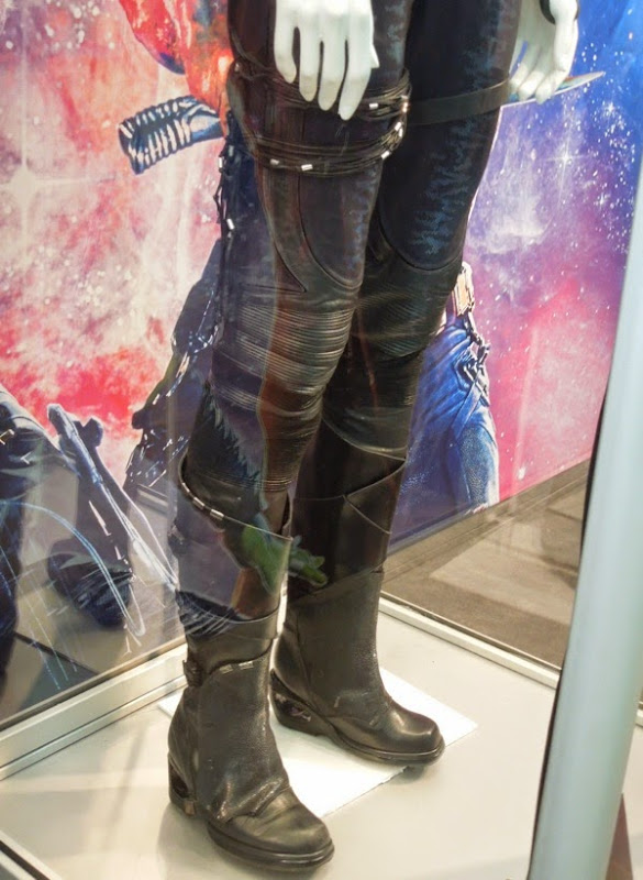 Guardians of the Galaxy Gamora costume detail