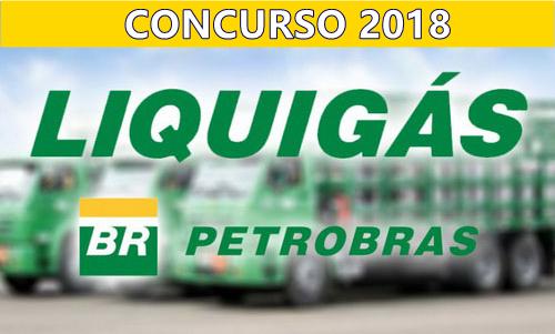 edital concuso da Liquigás 2018