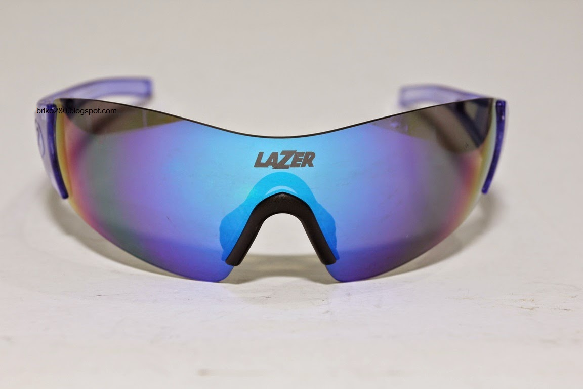 6fd164d37a6 New in box Lazer Magneto sunglasses. Crystal Blue frame with 3 sets of  lenses. Comes together with the Magclips and the standard Temple.