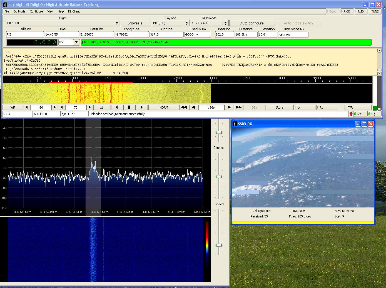 telemetry   M0NRD - Andrew Garratt
