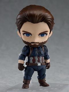 "Nendoroid Captain America de ""Avengers: Infinity War"" - Good Smile Company"