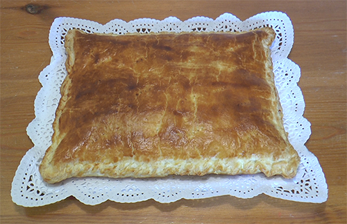 Pastel de hojaldre Buitoni (La Cocinera) con jamón y queso