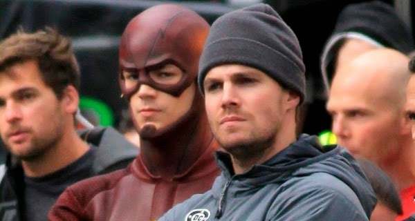 Rodaje Crossover Arrow y The Flash