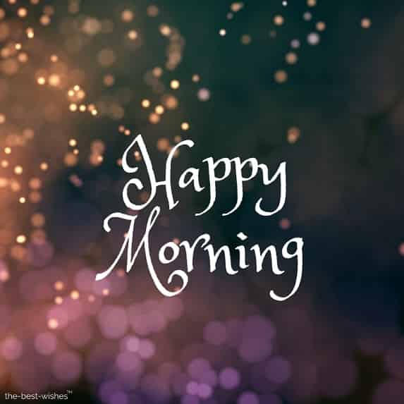 happy morning wallpaper pictures