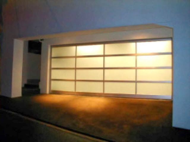 Modern Glass Garage Door Ayanahouse