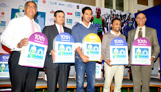 John Abraham at Standard Chartered Mumbai Marathon 2013 press meet
