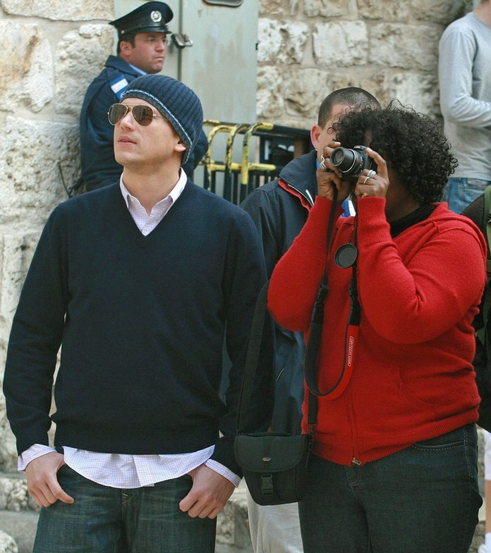 "Wentworth Miller With Love: Wentworth Miller: ""Yes"" Israel"
