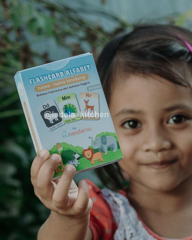 Flash Card Alfabet Seri Binatang Lengkap