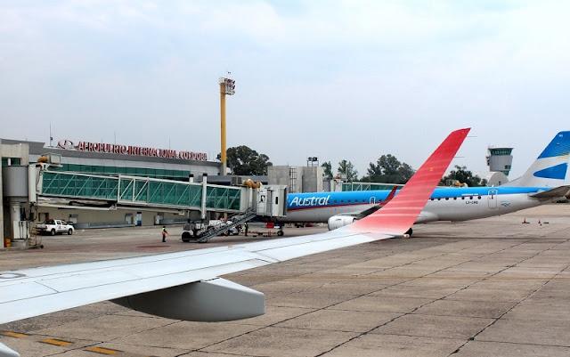 Sobre o aeroporto de Córdoba