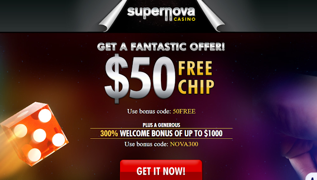Supernova Casino Welcome Bonuses
