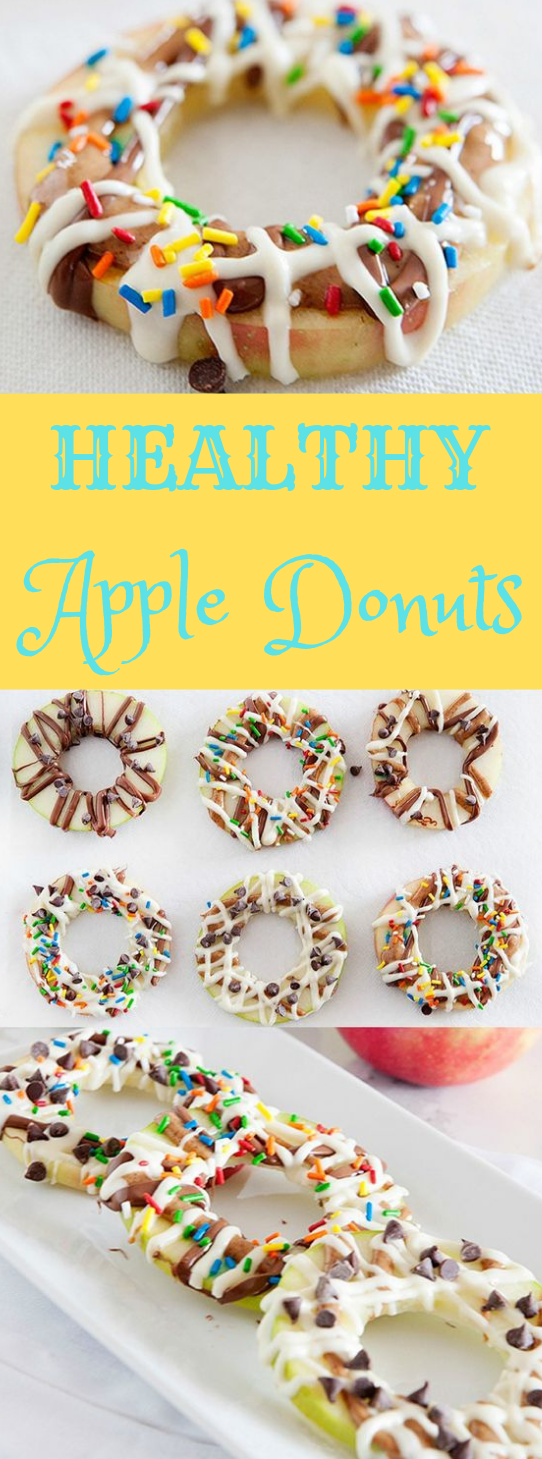 HEALTHY APPLE DONUTS #donuts #dessert