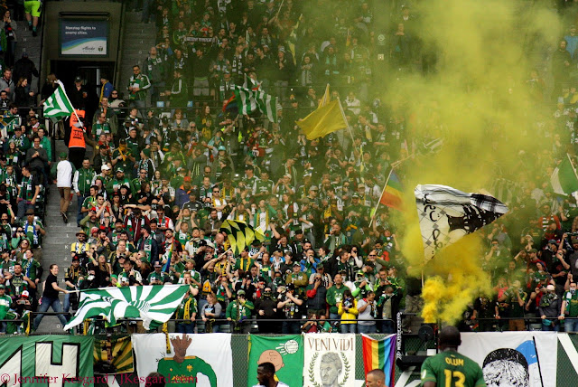 providence park timbers army post-goal