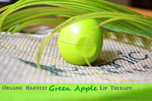Organic Harvest Lip Therapy in Green Apple review, price, buy india online