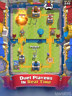 Clash Royale, Game Duel Strategi terbaru dari Supercell