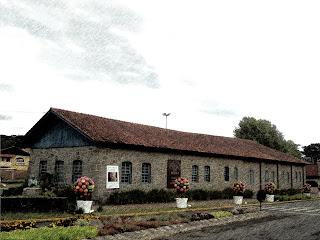 Casa de Pedra, no Centro de Canela
