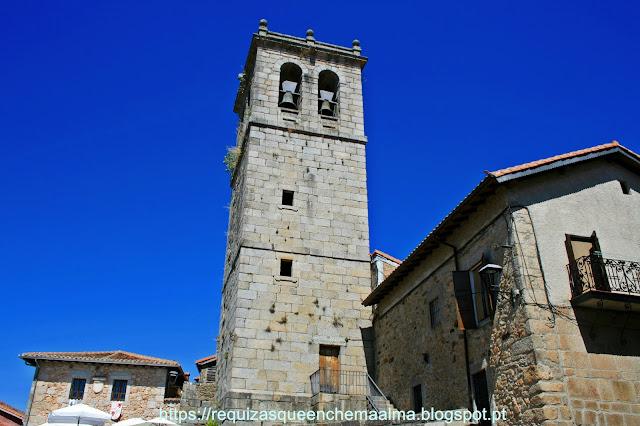Praça de la Iglesia, Torre de las Campanas,