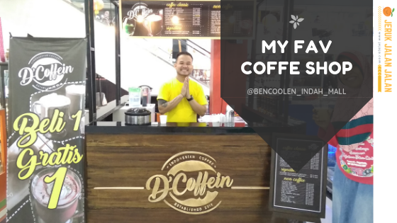 D'Coffein, Kedai Kopi Favorit di Bencoolen Indah Mall